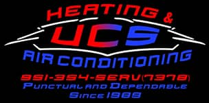UCS Heating & Air Conditioning Logo